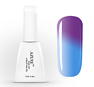 Azure UV Gel Soak off Nail Polish Color Changing with Temperature 37#-48#(12ml,48 Colors)