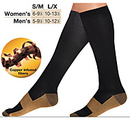 Unisex's Varicose Veins Reduce Swelling Socks Sports Support/Compression /Brown /Miracle socks