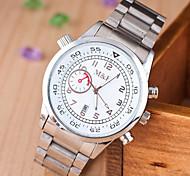 relojes de los hombres europa y los estados unidos de venta de aleación de cuarzo suizo y reloj de acero del calendario ojos