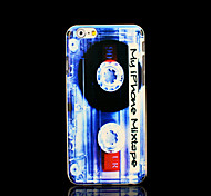 Magnetic tape Pattern Cover for iPhone 6 Case