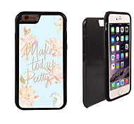 Make Today Pretty Design 2 in 1 Hybrid Armor Full-Body Dual Layer Shock-Protector Slim Case for iPhone 6