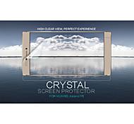 cristal nillkin filme protetor de tela anti-impressão digital clara para huaweu ascender p8