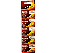 VSAI AG1/LR621/364/SR621SW/164 High Capacity Button  Batteries (10PCS)
