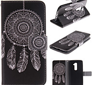 LG G2 PU Leather Full Body Cases / Cases with Stand Graphic / Special Design case cover