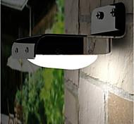 hry® 16LEDs luz branca cor autt-luz à noite lâmpada de parede solar, luzes solares