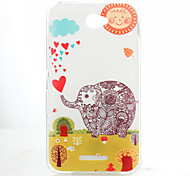 Back Cover Pattern Elephant TPU Soft Case Cover For Sony Other