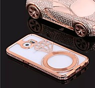 Special Design Fashion High-Grade Luxurious Metal Diamond Bumper Frame for Samsung Galaxy S6 (Assorted Colors)