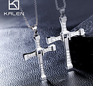 Women's Statement Necklaces Cross Silver Movie Jewelry Luxury Jewelry For
