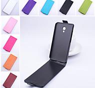 protetora de couro pu caso vertical flip magnética para Alcatel One Touch 2s ídolo 6050y (cores sortidas)