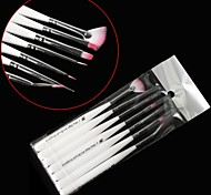 7PCS Nail Art Painting Brush Handle Kits