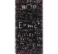 TPU projeto fórmula função imd capa mole para Samsung Galaxy a7