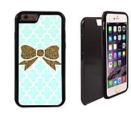 or la conception bowknot 2 en 1 armure hybride complet du corps à double couche choc protecteur mince affaire pour iPhone6