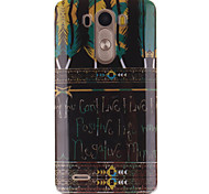 Tribal Feather Patterns TPU Soft Case for LG G3