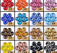 1440pcs/10gross 5MM SS20 Color Flat Rhinestone