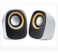 Allspark ® mini Multimedia-Lautsprechersystem (blau / gelb)
