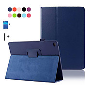 Pu Leather Stand Case For Apple Ipad 6 air 2 smart cover for ipad6 ipad air2 flip case+Screen Protector+Stylus