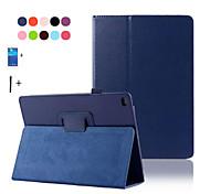 PU-Leder Standplatz für Apple iPad 6 Luft 2 intelligente Abdeckung für ipad ipad6 Air2 Schlagfall + Schirmschutz + Stift
