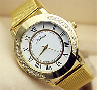 liga de disco moda quartzo banda relógio das mulheres relógio com diamantes