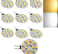 10 stuks Ding Yao G4 5 W 15 SMD 5050 150-250 LM Warm wit / Koel wit 2-pins lampen AC 220-240 V