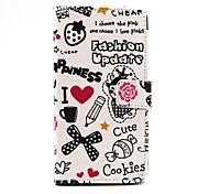 kleine Hexe ii cartoon Luxusbrieftasche Ledertasche für Samsung Galaxy s6 (Farbe sortiert)