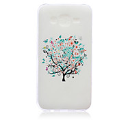 Multicolored Tree Pattern TPU Phone Case For Samsung Galaxy J5