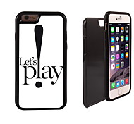 Let's Play Design 2 in 1 Hybrid Armor Full-Body Dual Layer Shock-Protector Slim Case for iPhone 6