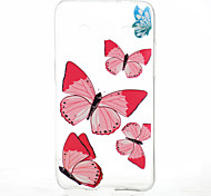Butterfly Pattern TPU Material Soft Phone Case for Samsung Galaxy Core 2 G355H/G3558/G3559