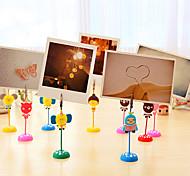 Cute Cartoon Memo Card Holder Clip Stand (Randon Color)
