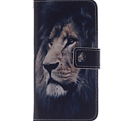 For HTC Case Wallet / Card Holder / with Stand / Flip Case Full Body Case Animal Hard PU Leather HTC
