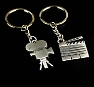 Alloy Shooting Movie Video Camera Key Chain