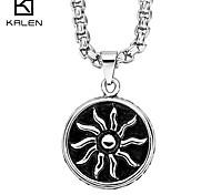 Kalen Men's Jewelry Custom New Design Fashion Stainless Steel Charm Pendant Necklace