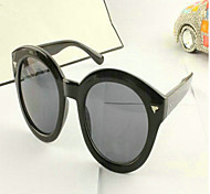 Women 's  Large Round Frame Sunglasses  (More Colors)