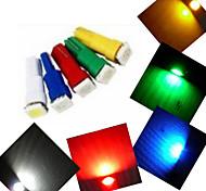 5 Stück Ding Yao Dekorativ Lichtdekoration T5 1.5W 100-150 LM K 1 SMD 5050 Kühles Weiß / Rot / Blau / Gelb / Grün AC 12 V