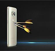 0,3 milímetros de alta definição protetor de tela de vidro temperado para trás para Samsung Galaxy S6 borda (atrás)