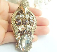 Women Accessories Gold-tone Topaz Rhinestone Crystal Brooch Art Deco Penguin Brooch Scarf Pin Women Jewelry