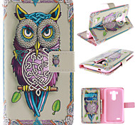 LG G3 PU Leather Full Body Cases Graphic / Special Design case cover