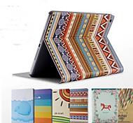 красочные ПУ кожаный ремень кобуры сна функция леса квартиру для iPad2 3 4 (ассорти цветов)