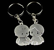 Small Alloy Baby Lovers Key Chain