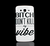 frase patroon deksel fo Samsung Galaxy Grand 2 g7106 case