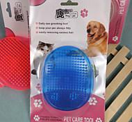 cristallo hardcover spazzola rotonda per gli animali domestici