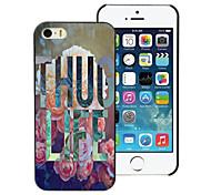 Thug Life Design Aluminum Hard Case for iPhone 5C