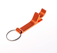 GX-142 Aluminum Alloy  Key Chain Ring Bottle Opener Decoration Golden