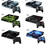 Good Design High Quality Stickerfor Playstation 4 Console Skin & Remote Controllers Skin