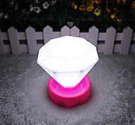 Creative Diamond Lamp Night Light LED Mini Table Lamp (Not Included Battery)