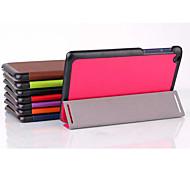 8-Zoll-Dreifach-Faltung Qualität PU-Leder für Lenovo Registerkarte 2 A8 (verschiedene Farben)