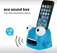 Cute Cartoon Hands-Free Sound Amplifier Stand Speaker Holder for iPhone 4/4S/5/5S/5C (Blue)