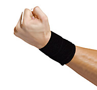 Ollas Outdoor Fitness Unisex One-piece Black Mildew Antibacterial Wrist Protector Free Size S9202
