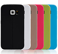 Thin Wire Sticks TPU Material Phone Case for Samsung Galaxy S6 edge (Assorted Colors)