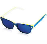 Unisex 's Anti-reflectante/100% UV/Plegable Wayfarer Gafas de Sol