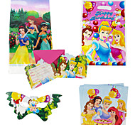 75pcs Princess Baby Birthday Party Decorations Kids Evnent Party Supplies Party Decoration 18 People Use